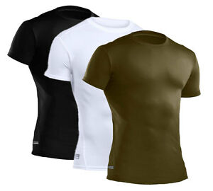 Under Armour UA Men's Tactical HeatGear Compression Short Sleeve T-Shirt 1216007
