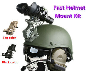 FAST Helmet MOUNT KIT Airsoft Tactical Army Protection Helmet Accessories Kits