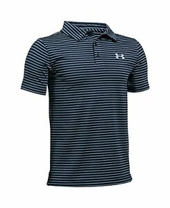Under Armour Boys' Playoff Stripe Polo Shirt - Choose SZColor