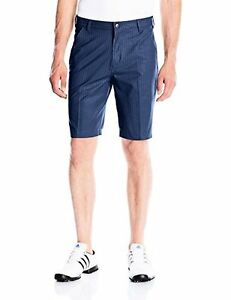 adidas Golf Mens Ultimate Dot Herringbone Short - Choose SZColor