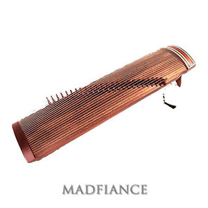 Gayageum Korean zither with 25 strings traditional musical instrument sound