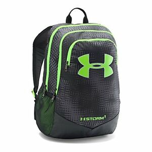 Boys Sports Fitness Features Under Armour Storm Scrimmage Backpack Graphite One