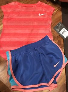 NWT NIKE DRY FIT toddler SHIRT & SHORTS SET 2t