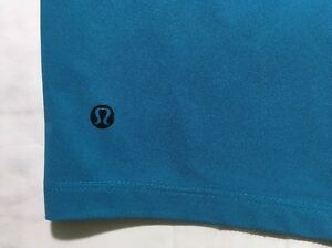 Lululemon Mens Golf Fashion Shorts 343536 Teal Blue San Jose Sharks