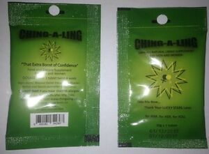 40 Ching-A-Ling pills + BONUS. #1 Herbal Sexual supplement for Men and Women