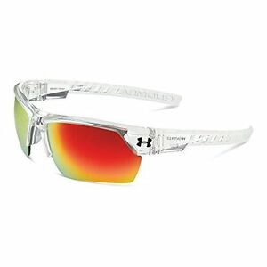 Under Armour Igniter 2.0 Shiny Crystal Clear Frame with Frosted Clear Rubber ...