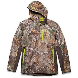 Under Armour Coldgear Infrared Scent Control Softershell Anorak Jacket - Mens