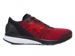 Under Armour Mens UA Charged Bandit 2 Running Training Shoes RedBlack size 13