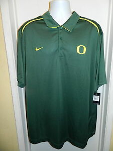 OREGON DUCKS NEW NIKE DRY FIT SIDELINE COACHES COLLEGE POLO SHIRT MENS 3XL 75.00