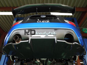 CARBON FIBER CLEIB STYLE REAR DIFFSUER W FITTING BRACKETS FOR FT86 GT86 FRS BRZ