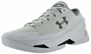 Under Armour Men's Curry 2 Low Basketball Shoe White 10 D(M) US