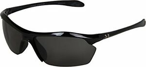 Under Armour Sunglasses Zone XL Shiny Black Frame Gray Lens