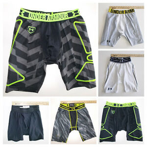 Boy's Under Armour Baseball Slider Shorts-Base layers-Click SIZE for Full LIST