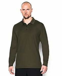 Under Armour Men's Tactical Performance Long Sleeve Polo - Choose SZColor