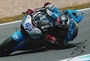 Scott Redding Hand Signed Estrella Galicia Marc VDS 12x8 Photo MOTOGP.