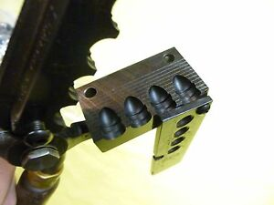 SAECO 4 Cavity Bullet Mould #265 with Handles 45 Caliber .452  210 gr. RN