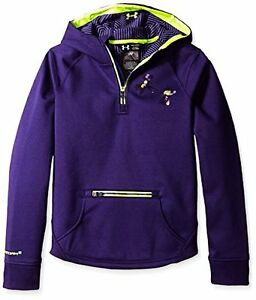 Under Armour Girls' Storm ColdGear Infrared Dobson  Zip Hoodie