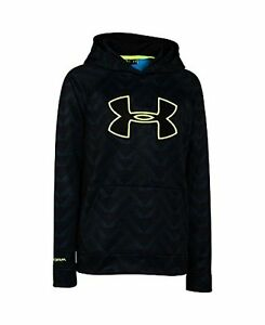 Under Armour Boys' Storm Fleece Printed Big Logo Hoodie - Choose SZColor