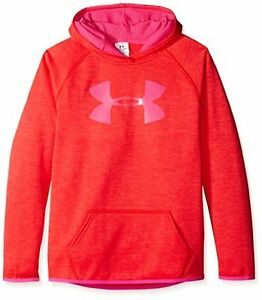 Under Armour Girls' Fleece Printed Big Logo Hoodie - Choose SZColor