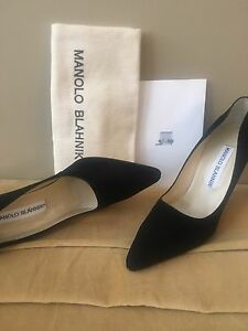 Manolo Blahnik Vintage Sexy High Heel Pumps