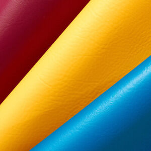 Vinyl Fabric Faux Leather Pleather Auto Upholstery Marine 54quot; Wide By the Yard