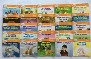 Lot 25 Children#x27;s Level D Kindergarten First Grade Learn to Read Books NEW