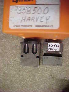 DOUBLE CAVITY LYMAN 358500 149 GR. HARVEY BULLET MOLD FOR 38 SPECIAL 357 MAGNUM