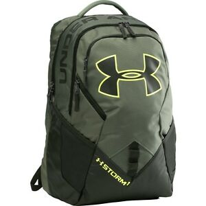 Under Armour Storm Big Logo IV Backpack One Size Durable GreenBlack