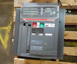 ABB E3H 2000AMP BREAKER PR121P SACE EMAX Accessories Available Fixed Mount