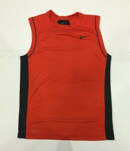 Boy's Youth NIKE Dri-Fit Football Workout Running Gym Training Shirt Size XL