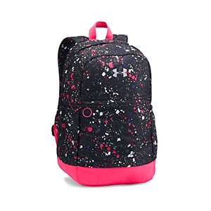 Under Armour Girls' Favorite Backpack BlackMetallic Silver One Size