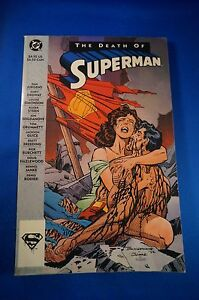 1993 THE DEATH OF SUPERMAN COMIC BOOK TPB DC Man of Steel Superman Adv. Super