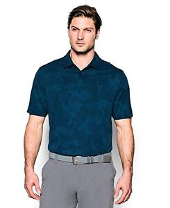 Under Armour Men's Threadborne Camo Polo Shirt - Choose SZColor
