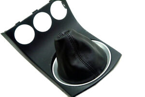 Manual Shift Boot Leather Synthetic Fits Nissan 350Z 03 08 Black $17.99