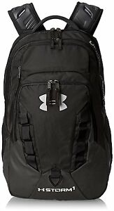 Storm Recruit Backpack Black One Size Under Armour 100% Polyester up to 15