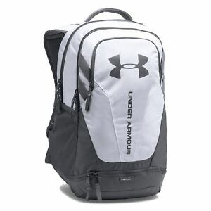 NWT Under Armour Hustle 3.0 Laptop Backpack White Graphite