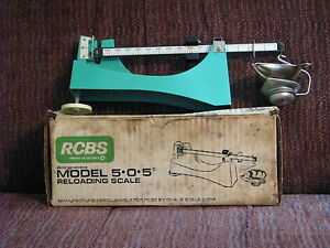 RCBS #505 Reloading Scale