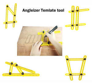 Angle izer Multi Angle Ruler 836 Template Angleizer Tile amp; Floor Measuring Tool $6.99