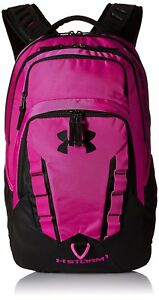 Under Armour Storm Recruit Backpack Tropic PinkBlack One Size