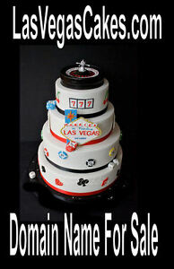 LasVegas Cakes.com Party Reception Food Catering Cake Business Online URL Domain