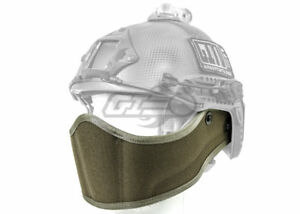 Lancer Tactical Helmet Face Armour (Foliage Green) 19249
