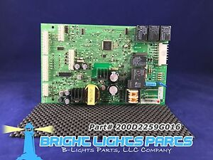 GE Main Control Board FOR GE REFRIGERATOR 200D2259G016 Green $45.95