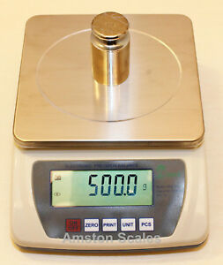 6000 x 0.1 GRAM DIGITAL BALANCE COUNTING SCALE GRAIN CARAT GOLD SILVER RELOAD