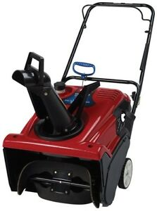 21 in. Single Stage Gas Heavy Snow Blower Paved Premium engine Manual 4 cycle