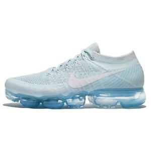 Nike Air Vapormax Flyknit Day To Night Glacier Blue Men Running Shoes 849558-404