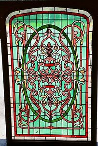 Stained Leaded Glass Windows Large 60