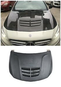 Portion Carbon Hood Bonnet For 13+ Mercedes Benz W117 C117 CLA Class CLA45 AMG