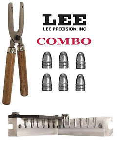 Lee 6 Cavity Mold & Mold Handles 9mm Luger  38 Super  380 ACP # 90465