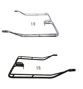 Nostalgic Saddlebag Guard Rails for 2009-2013 Harley Road King Electra Hard Bags
