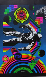 Choose from 60 different Psychedelic Blacklight Poster reproductions 1960#x27;s 70#x27;s $14.00